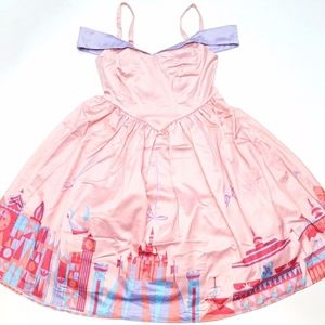Disney Dress Shop Fantasyland Silky Women's Dress